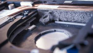 Vyčištění ventilátoru notebooku